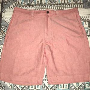 J. Crew pink men's shorts size 33